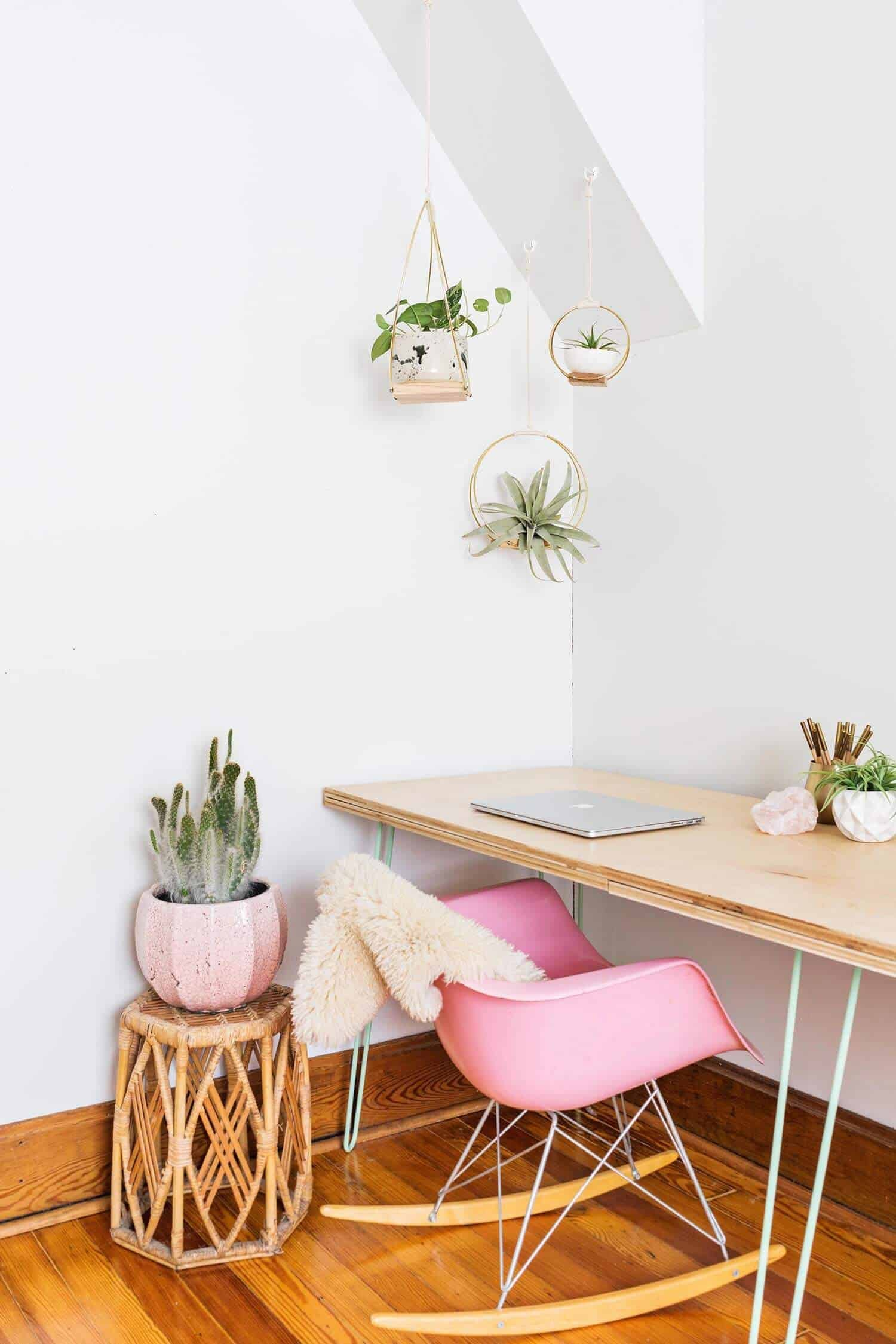 Diy Midcentury Planter 100 Of The Best Diy Gifts For
