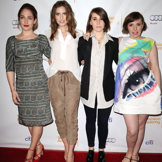 Lena Dunham in Eye Dress