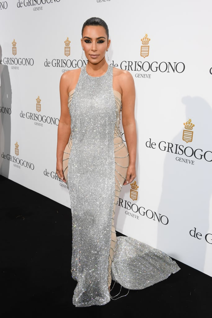 Kim Kardashian's Sequin Dress at Cannes