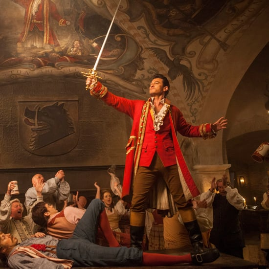 Luke Evans as Gaston in Beauty and the Beast 2017