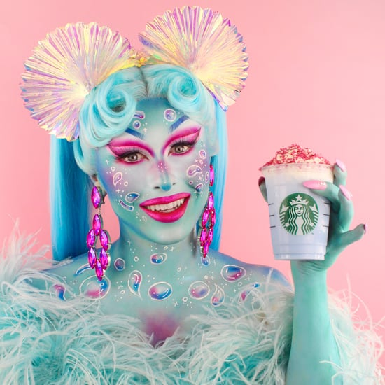 Starbucks Release New Blue Frappuccino With Blu Hydrangea
