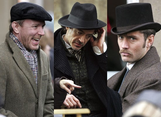 29/10/2008 Sherlock Holmes Filming