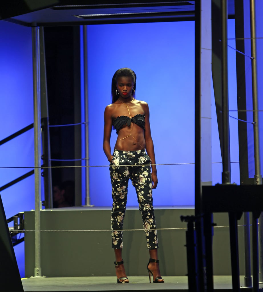 The first Rihanna For River Island collection debuted during London Fashion Week Fall 2013.