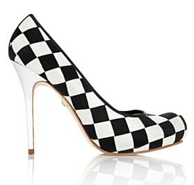 Guess Who Designed These Crazy Checkerboard Pumps?