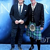 Jerome Flynn and Iain Glen
