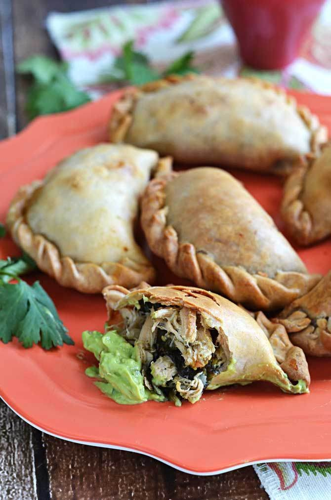 End-of-Summer Chicken Empanada