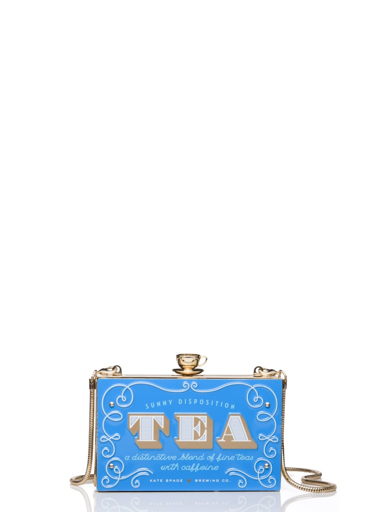 Down the Rabbit Hole English Tea Clutch, Spring 2016