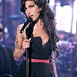Amy shone bright on stage at the MTV Movie Awards in 2007.