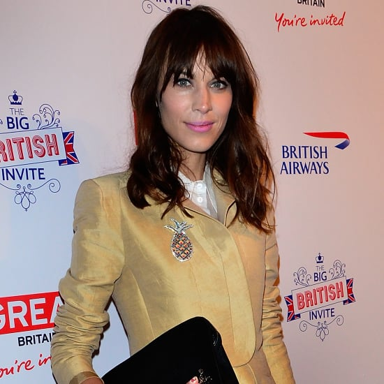 Alexa Chung in Carven at Big British Invite Party
