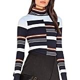 525 America Rib Mock Neck Sweater ($96)