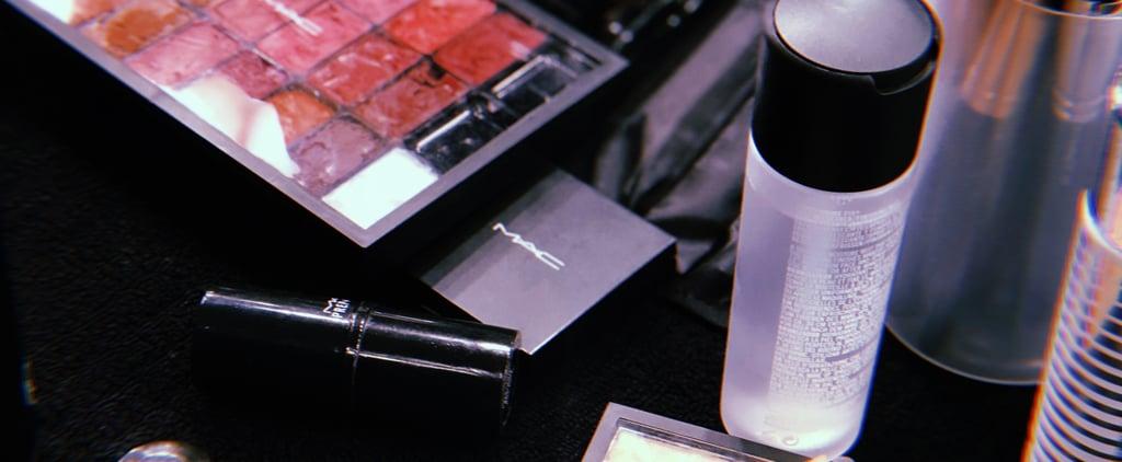 MAC Smoked Almond Lipstick Used at Australian Fashion Week
