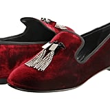 Nothing says Christmas quite like red velvet. The Giuseppe Zanotti velvet loafers ($750), with their deep red hue and sparkling tassels, will make them an instant hit at any holiday party.