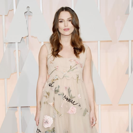 Keira Knightley's Dress at the Oscars 2015