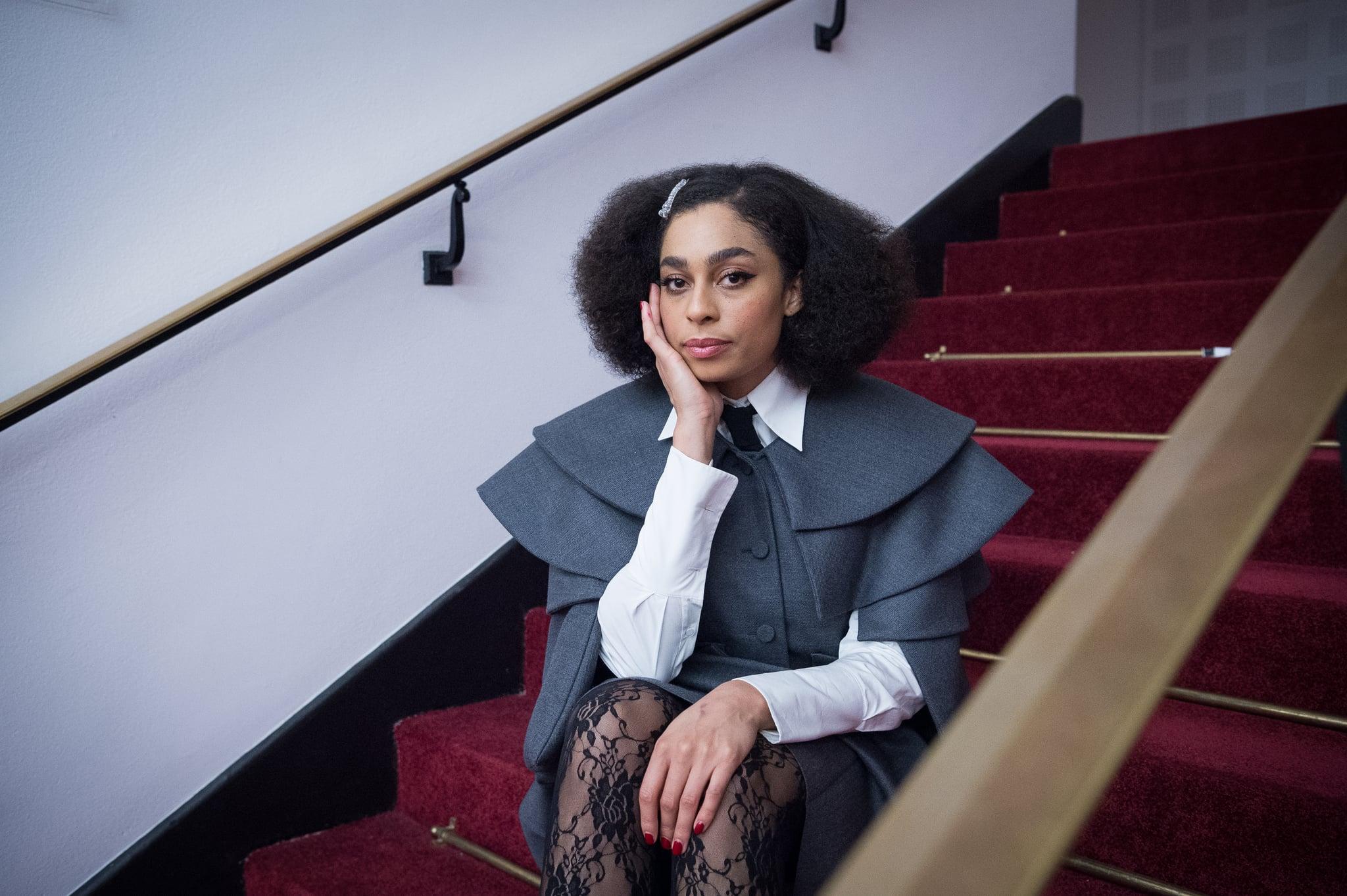 PARIS, FRANCE - NOVEMBER 23:  Celeste poses for exclusive portrait session at Salle Pleyel on November 23, 2019 in Paris, France.  (Photo by David Wolff - Patrick/Redferns)
