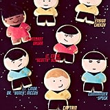 Star Trek Sugar Cookies