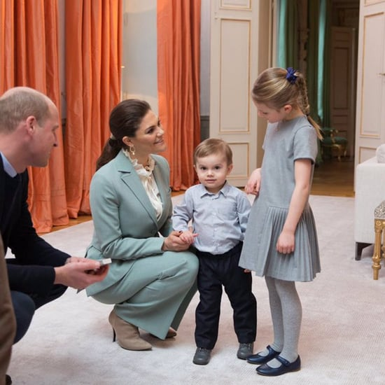 Kate and Will With Princess Estelle and Prince Oscar