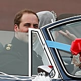 Prince William and Kate Drive Off in an Aston Martin Following Their Reception!