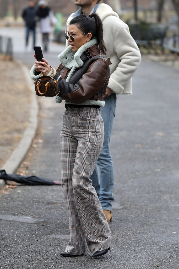 Kourtney Owns the Same Bag in the Classic Colourway, Which She Wore in February 2018