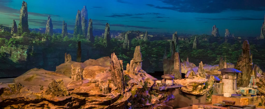 Disney Just Revealed a Sneak Peek of Star Wars Land, and It's Absolutely Epic