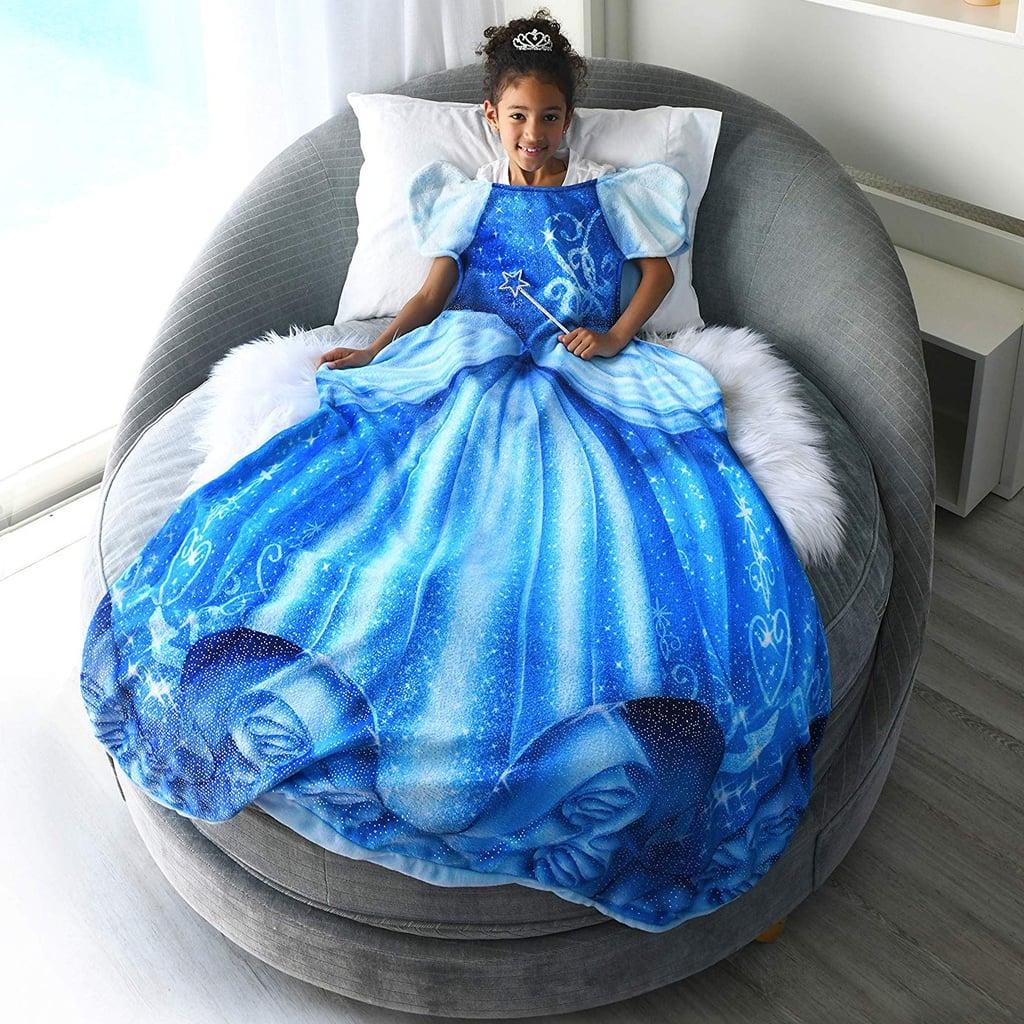 Disney Princess Cinderella, Anna, and Elsa Blankie Tails