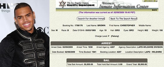 Chris Brown Released on Bail