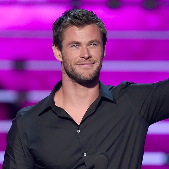 Chris Hemsworth Speech at People's Choice Awards 2016