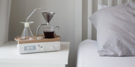 This Coffee-Brewing Alarm Will Actually Make You Want To Get Up