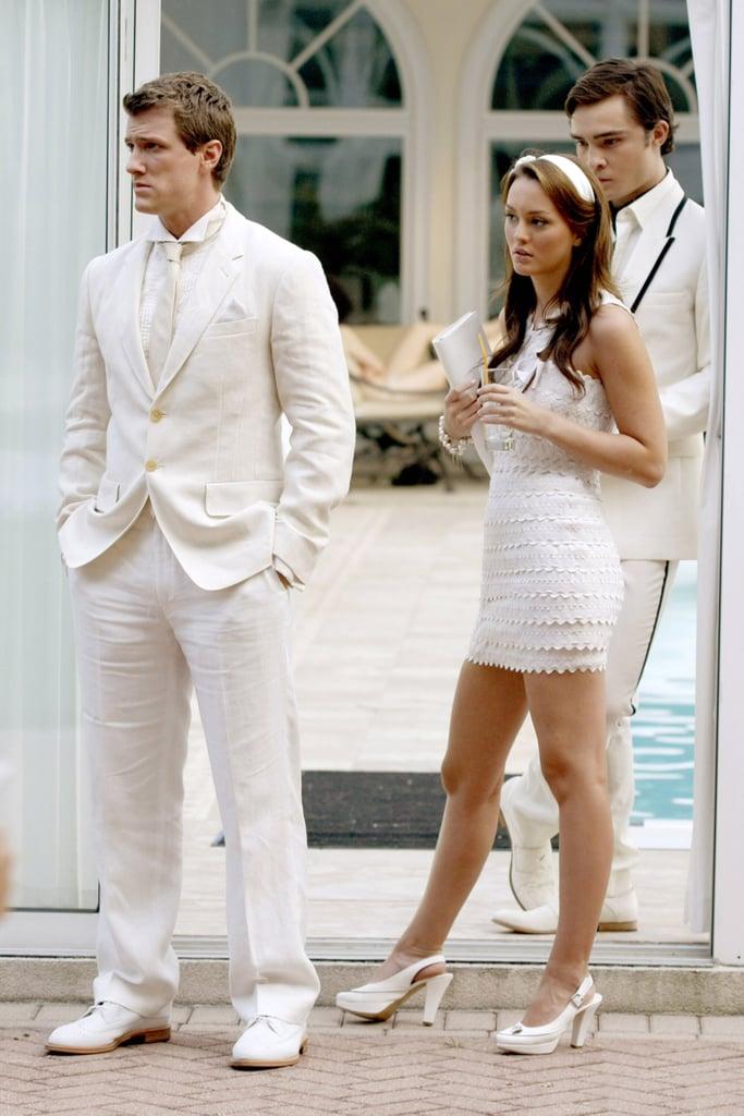 Blair's White Statement Dress