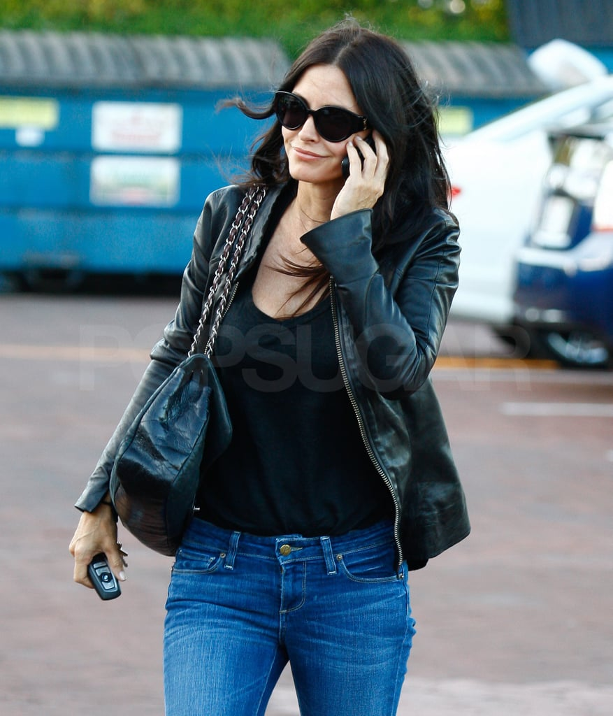 Courteney Cox Enjoys a Low-Key Lunch and a Solid Start in the PopSugar 100!