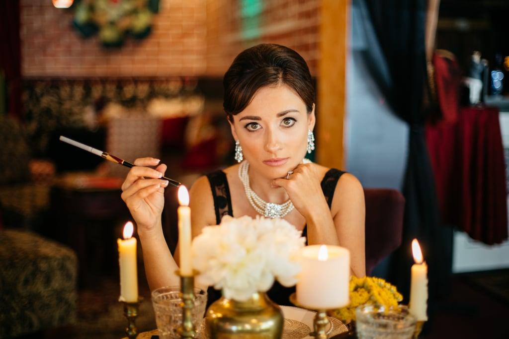 Audrey Hepburn-Inspired Engagement Shoot
