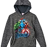Marvel Avengers Hulk, Captain America, and Iron Man Fleece-Lined Hoodie