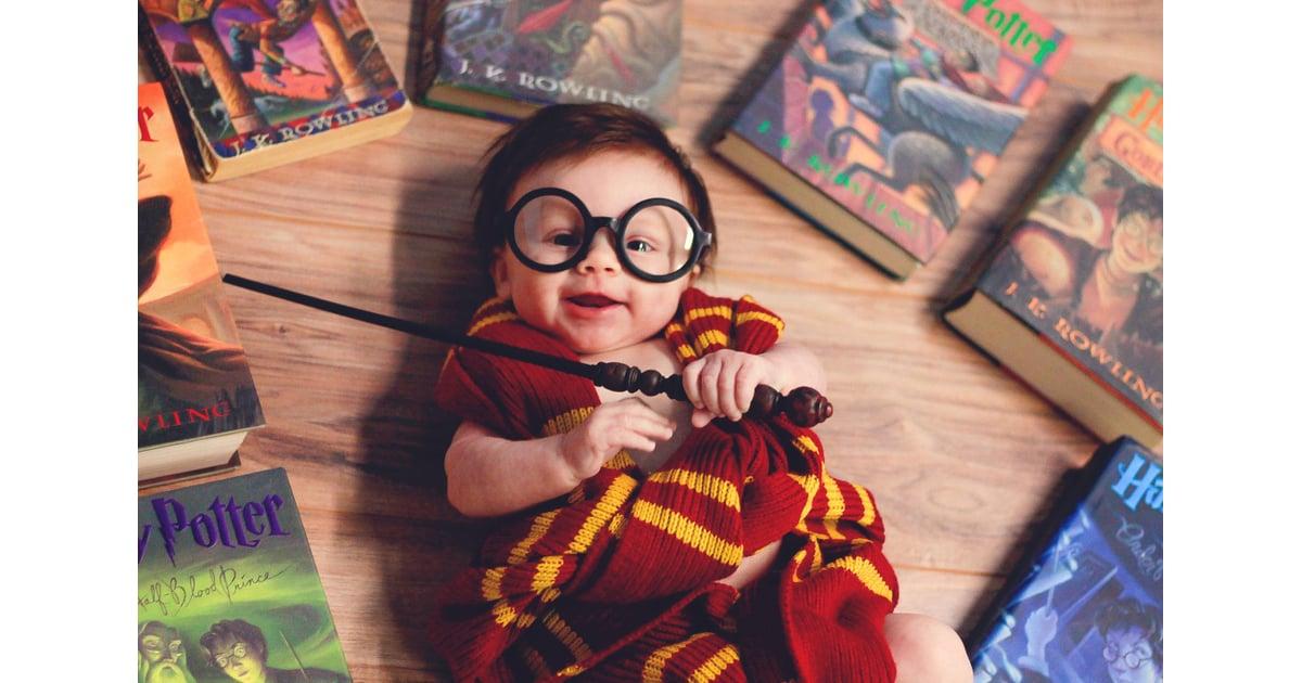 Harry Potter Baby Gifts Uk : Newborn harry potter baby photo shoot popsugar moms
