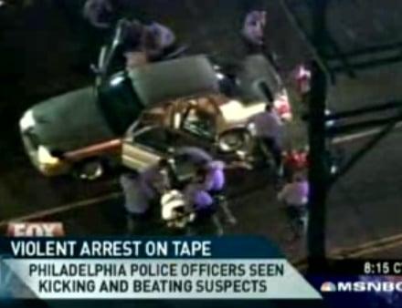 Philadelphia Police Caught Beating Suspects