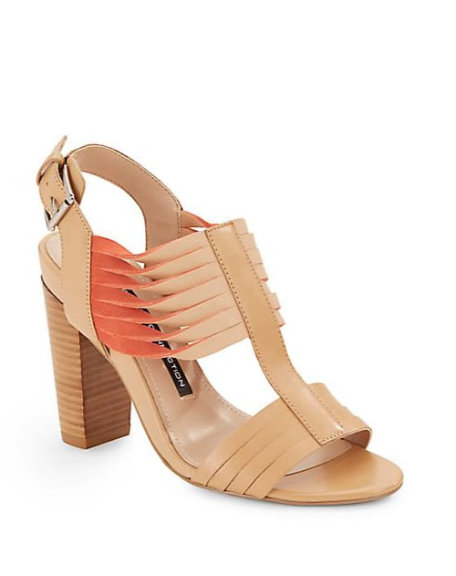 French Connection Kamilla Leather Sandals