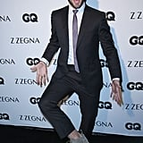 Ryan Guzman chose comfy shoes for his trip up the carpet at Zegna and GQ's bash in LA on Thursday.
