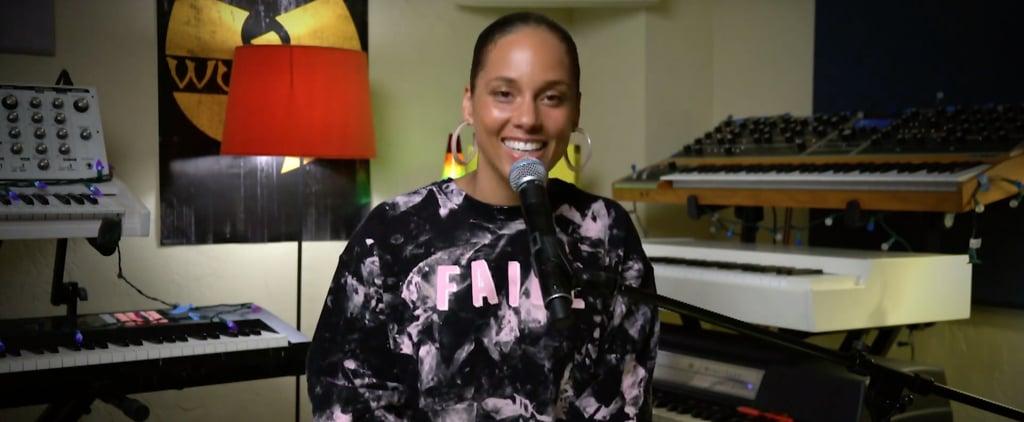 "Alicia Keys Cover of Flo Rida's ""My House"" Video"