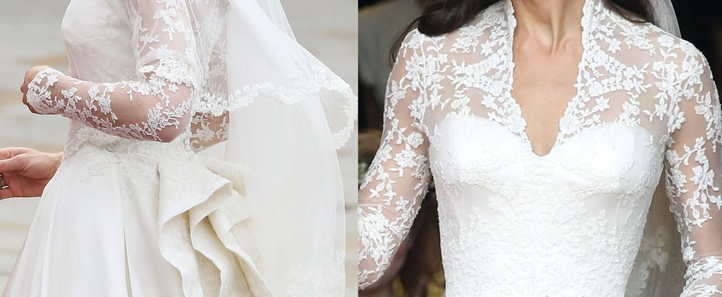 Kate Middleton's Wedding Dress From Every View
