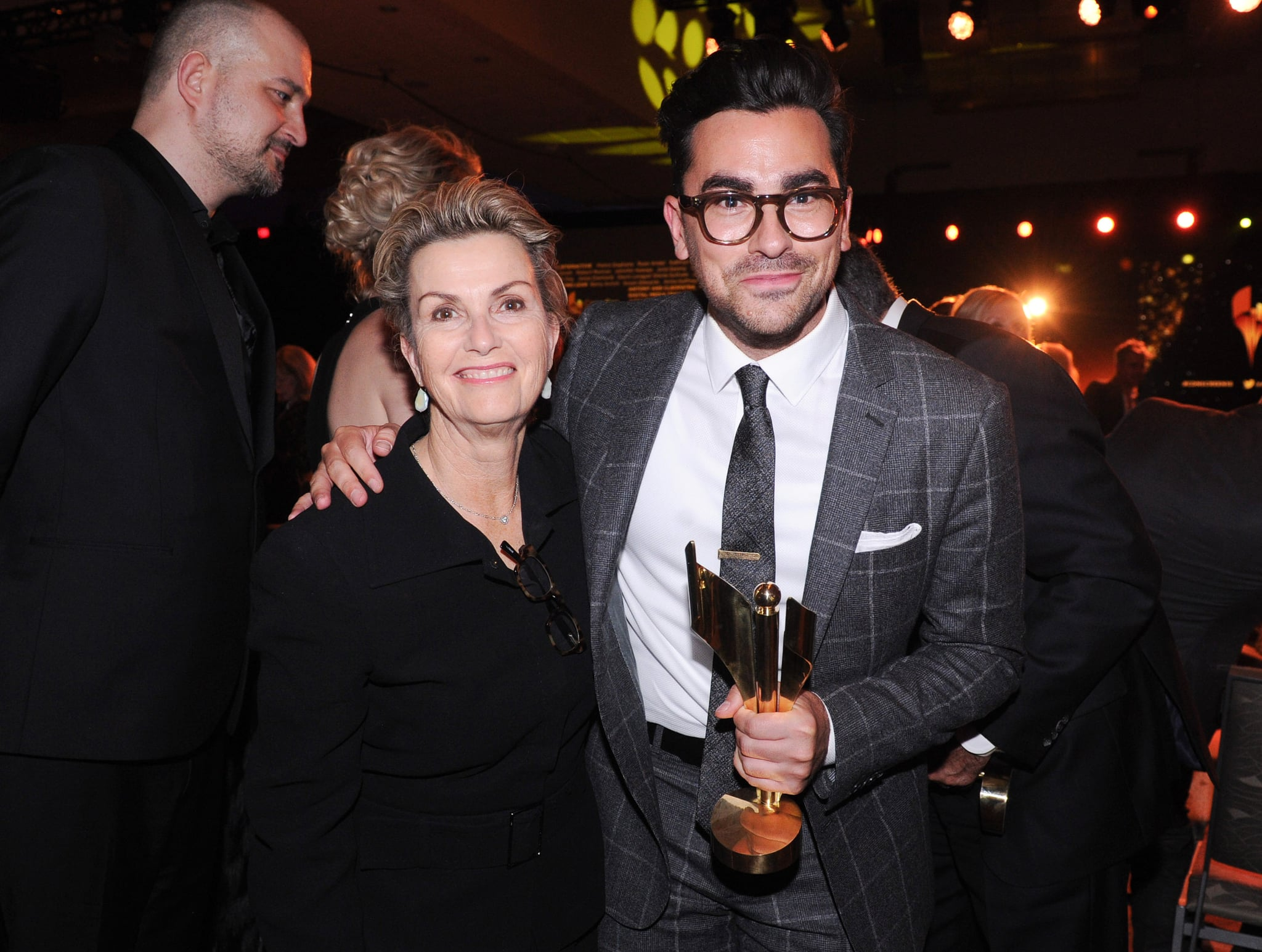 TORONTO, ON - MARCH 09: Deborah Divine Levy and actor Daniel Levy attend the Canadian Screen Awards at Westin Harbour Castle Hotel on March 9, 2016 in Toronto, Canada.  (Photo by George Pimentel/Getty Images)
