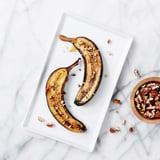 Coconut-Maple Broiled Banana Recipe
