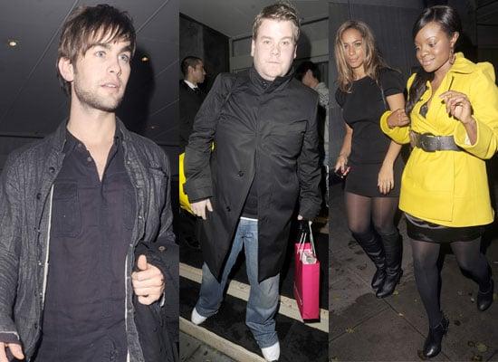 14/11/08 Chace Crawford, Leona Lewis, Keisha Buchanan, James Corden