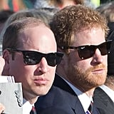 They looked slick in sunglasses while attending a commemoration for the 100th anniversary of the battle of Vimy Ridge in April 2017.