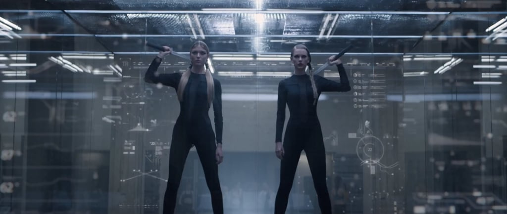 Those bodysuits are so sleek. Halloween costume, anyone?