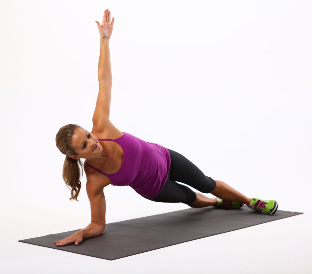 Circuit 1, Exercise 4: Side Elbow Plank
