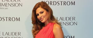 Eva Mendes Has the Most Amazing Cheekbones —That's All We Have to Say