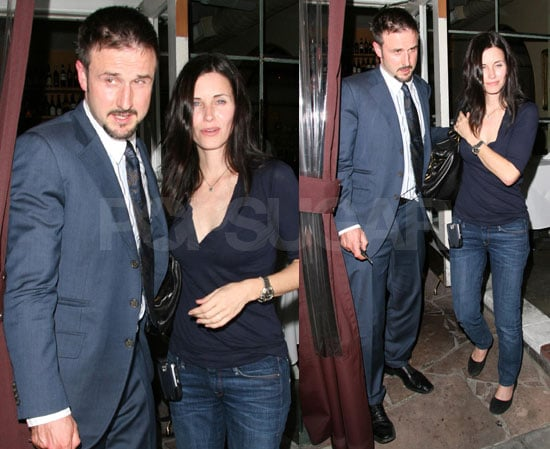 David & Courteney Really Really Like Il Sole