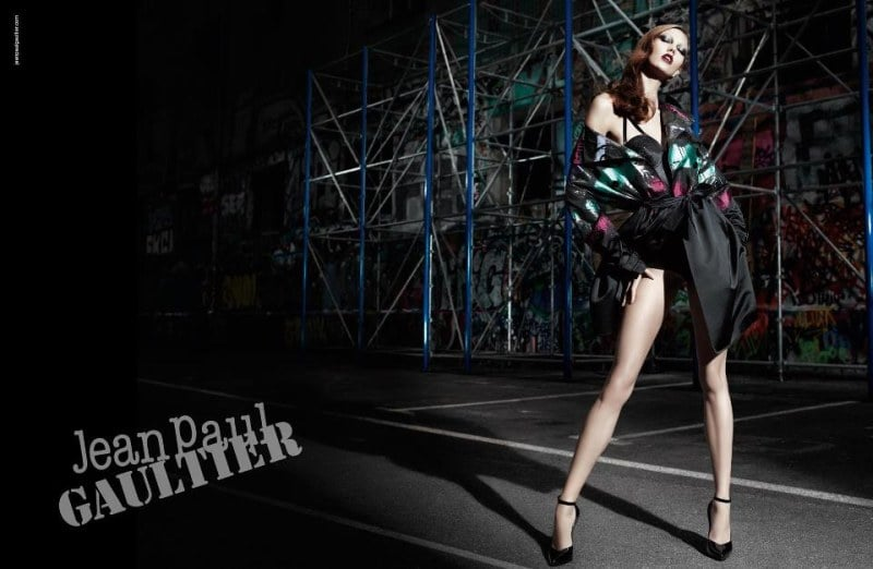 Drama and the stylishly daring come together in Jean Paul Gaultier's dark Fall ads.
