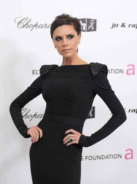 Victoria Beckham at Elton John AIDS Foundation