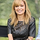 Nicole Richie smiled for the cameras while hanging out at The Langham Huntington Hotel for a press event.