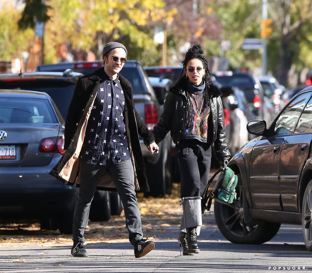 Robert Pattinson and FKA Twigs spent their post-Halloween weekend with a PDA-filled stroll around Toronto. The couple was spotted holding hands and munching on cookies during a walk in the Canadian city on Sunday. Robert and FKA Twigs also stopped into Luna Cafe for a meal and a chance to warm up in the chilly Fall weather. The pair, who went public with their romance back in September, have been taking their love all around the world, including LA, Brussels, and Paris. However, the two have now popped up in Toronto, where Rob is working on his latest project, Idol's Eye, alongside Robert De Niro and Rachel Weisz. Rob and FKA may be trying to squeeze in all the time they can together, as the indie pop star will soon be on the move as she prepares to launch a worldwide tour, beginning on Nov. 6 in Washington DC.