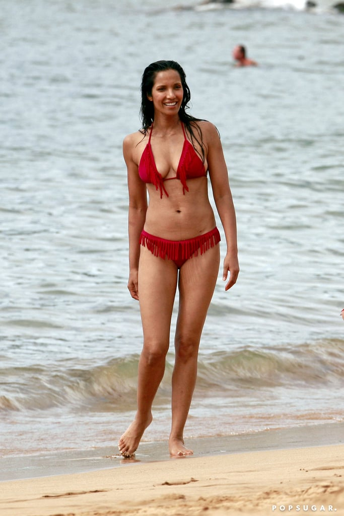 Padma Lakshmi and Her Little Princess Have a Hawaiian Playdate